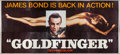 "Movie Posters:James Bond, Goldfinger (United Artists, 1964). 24 Sheet (104"" X 232""). JamesBond.. ..."