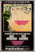 "Movie Posters:Mystery, Chinatown (Paramount, 1974). Spanish One Sheet (27.5"" X 40.5"").Mystery.. ..."