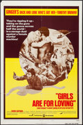 "Movie Posters:Sexploitation, Girls are for Loving & Other Lot (Continental, 1973). OneSheets (2) (27"" X 41"") Style B, & Uncut Pressbook (11"" X 17"").Sex... (Total: 3 Items)"