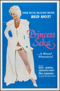 """Princess Seka and Others Lot (International Film Industries, 1980). One Sheets (5) (27"""" X 41"""") and (1) (25.25&..."""