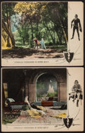 """Movie Posters:Swashbuckler, Robin Hood (United Artists, 1922). Lobby Cards (2) (11"""" X 14""""). Swashbuckler.. ... (Total: 2 Items)"""