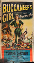 Movie Posters:Adventure, Buccaneer's Girl & Others Lot (Universal International, 1950).Three Sheets (11) (Various Sizes). Adventure.. ... (Total: 11Items)