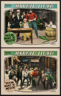 """Movie Posters:Comedy, From Hand to Mouth (Pathé, R-1920s). Lobby Cards (2) (11"""" X 14""""). Comedy.. ... (Total: 2 Items)"""