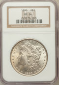 Morgan Dollars: , 1890 $1 MS64 NGC. NGC Census: (4059/303). PCGS Population(3517/435). Mintage: 16,802,590. Numismedia Wsl. Price forproble...
