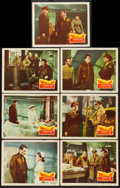 "Movie Posters:War, Twelve O'Clock High (20th Century Fox, 1949). Lobby Cards (7) (11"" X 14""). War.. ... (Total: 7 Items)"
