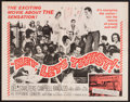 "Movie Posters:Rock and Roll, Hey, Let's Twist (Paramount, 1962). Half Sheet (22"" X 28""). Rockand Roll.. ..."