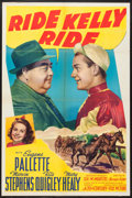 """Movie Posters:Sports, Ride, Kelly, Ride (20th Century Fox, 1941). One Sheet (27"""" X 41""""). Sports.. ..."""