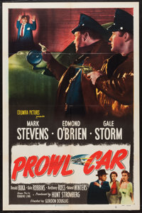"""Between Midnight and Dawn (Columbia, 1950). One Sheet (27"""" X 41""""). Crime. Also known as Prowl Car"""