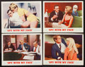"Movie Posters:Action, The Spy with My Face (MGM, 1965). Lobby Card Set of 4 (11"" X 14""). Action.. ... (Total: 4 Items)"