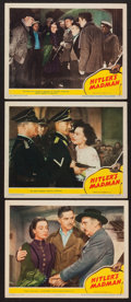 "Movie Posters:War, Hitler's Madman (MGM, 1943). Lobby Cards (3) (11"" X 14""). War.. ...(Total: 3 Items)"