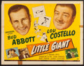 "Movie Posters:Comedy, Little Giant (Universal, 1946). Half Sheet (22"" X 28""). Comedy.. ..."