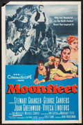 "Movie Posters:Adventure, Moonfleet and Others Lot (MGM, 1955). One Sheets (4) (27"" X 41"").Adventure.. ... (Total: 4 Items)"