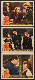 "Movie Posters:War, The Mortal Storm (MGM, 1940). Lobby Cards (3) (11"" X 14""). War..... (Total: 3 Items)"