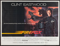 """Firefox (Warner Brothers, 1982). Subway (45"""" X 59.5""""). Action"""