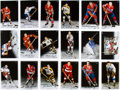 Hockey Collectibles:Others, 1999-2003 Hockey Greats Signed Canadian Sports Autograph Services Cards Lot of 18. ...