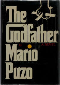 Mario Puzo. The Godfather. Putnam, 1969. First edition, first printing. Publisher's cloth with