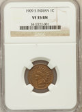 Indian Cents: , 1909-S 1C VF35 NGC. NGC Census: (122/853). PCGS Population(301/1117). Mintage: 309,000. Numismedia Wsl. Price for problem ...
