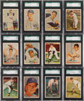 Baseball Cards:Lots, 1957 Topps Baseball SGC 92 NM/MT+ 8.5 Collection (50) With HoFers& Scarce Series. ...