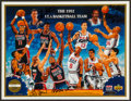 Basketball Collectibles:Photos, 1992 Dream Team Multi Signed Print....