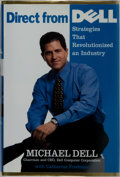 Books:Business & Economics, Michael Dell. SIGNED. Direct from Dell. HarperBusiness,1999. First edition. Signed by the author on the half-...