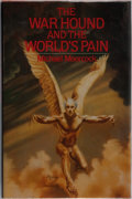 Books:Science Fiction & Fantasy, Michael Moorcock. SIGNED. The War Hound and the World's Pain. Timescape Books, 1981. First edition, first printi...