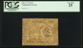 Colonial Notes:Continental Congress Issues, Continental Currency February 17, 1776 $3 PCGS Very Fine 25.. ...