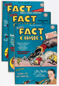 """Golden Age (1938-1955):Non-Fiction, Real Fact Comics #7, 9, and 11 """"D"""" Copy pedigree Group (DC,1947-48) Condition: Average VF-.... (Total: 3 Comic Books)"""