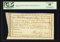 Colonial Notes:Connecticut, Connecticut Fiscal Paper Interest Certificate Hartford, CT PCGSExtremely Fine 40.. ...