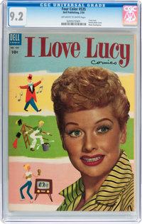Four Color #535 I Love Lucy (Dell, 1954) CGC NM- 9.2 Off-white to white pages