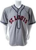 "Baseball Collectibles:Uniforms, 2007 Scott Rolen Game Worn St. Louis Cardinals Negro League ""Throwback"" Jersey...."