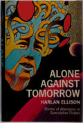 Books:Science Fiction & Fantasy, Harlan Ellison. SIGNED. Alone Against Tomorrow. The Macmillan Company, 1971. First edition, first printing. Si...