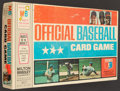 "Baseball Collectibles:Others, 1970 Milton Bradley ""Official Baseball Card Game"" With Compete Set of Cards (60) - Unopened...."
