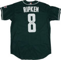 Baseball Collectibles:Uniforms, Cal Ripken Jr. Signed All Star Jersey....