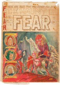 Haunt of Fear #14 Cover Silverprint Proof (EC, 1952)