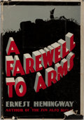 Books:Literature 1900-up, Ernest Hemingway. A Farewell to Arms. Grosset & Dunlap,ca. 1930. Later edition. Publisher's cloth with light rubbin...