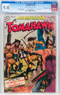 """Golden Age (1938-1955):Adventure, Tomahawk #8 Davis Crippen (""""D"""" Copy) pedigree (DC, 1951) Condition:NM Off-white to white pages...."""