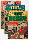Golden Age (1938-1955):Horror, Vault of Horror #12, 18, and 21 Group (EC, 1950-51) Condition:Average GD-.... (Total: 3 Comic Books)