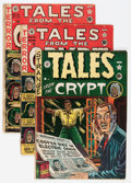 Golden Age (1938-1955):Horror, Tales From the Crypt Group (EC, 1950-53) Condition: AverageFR/GD.... (Total: 8 Comic Books)