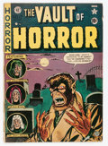 Golden Age (1938-1955):Horror, Vault of Horror #17 (EC, 1951) Condition: GD/VG....