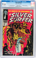 Silver Age (1956-1969):Superhero, The Silver Surfer #3 (Marvel, 1968) CGC NM+ 9.6 Off-white to white pages....