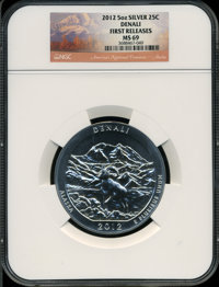 2012 25C Denali Five-Ounce Silver, First Releases MS69 NGC. NGC Census: (0/0). PCGS Population (0/0)