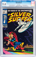 Silver Age (1956-1969):Superhero, The Silver Surfer #4 (Marvel, 1969) CGC NM 9.4 White pages....