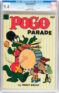 Golden Age (1938-1955):Funny Animal, Dell Giant Comics - Pogo Parade #1 File Copy (Dell, 1953) CGC NM9.4 Off-white pages....