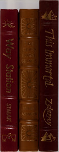 Books:Science Fiction & Fantasy, [Science Fiction]. Asimov, Simak, and Zelazny. Group of Three Books Published by Easton Press. Publisher's leather. Bookplat... (Total: 3 Items)