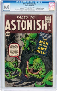 Tales to Astonish #27 (Marvel, 1962) CGC FN 6.0 Cream to off-white pages