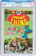 Bronze Age (1970-1979):Horror, Swamp Thing #23 (DC, 1976) CGC NM/MT 9.8 Off-white to whitepages....