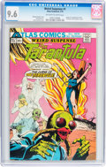 Bronze Age (1970-1979):Horror, Weird Suspense #1 (Atlas, 1975) CGC NM+ 9.6 Off-white to whitepages....
