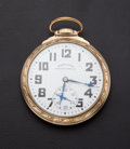 Timepieces:Pocket (post 1900), Hamilton Railway 21 Jewel 992 B Pocket Watch. ...
