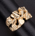 Estate Jewelry:Rings, Gold Nugget Style Ring. ...
