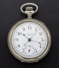 Timepieces:Pocket (post 1900), New York Standard Watch Co. Fly Back Pocket Watch. ...